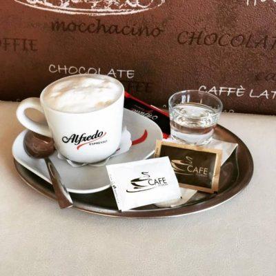 cafe florian, kava, capuccino